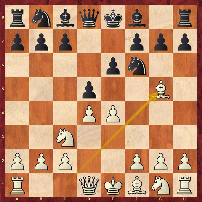 Leela Chess Zero - Stockfish 10 (4.Lg5)